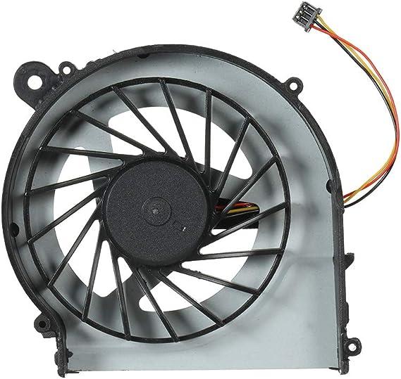 Docooler CPU Ventilador Refrigerador para HP G4 G6 G7 PC portátil 3 Pin 3-Wire: Amazon.es: Informática