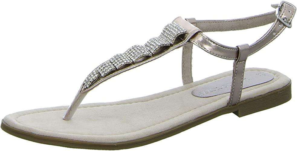 MARCO TOZZI WOMENS Rose Metallic Velour Shoes Various Sizes