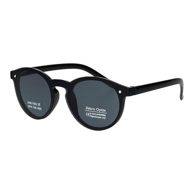 Amazon.com: Gafas de sol unisex redondas con agujero para el ...