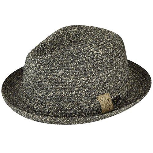 Bailey of Hollywood Mens Frankie Braided Fedora Trilny Hat