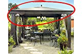 Replacement Canopy for Tiverton Gazebo High-Grade 300D Polyester