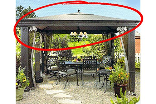 Replacement Canopy for Tiverton Gazebo High-Grade 300D Polyester For Sale