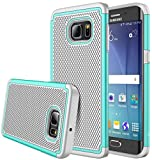 S6 Edge Plus case, iTronic Galaxy S6 Edge Plus - Double Tone Dual Layer Hybrid Defender Case for Samsung Galaxy S6 Edge Plus