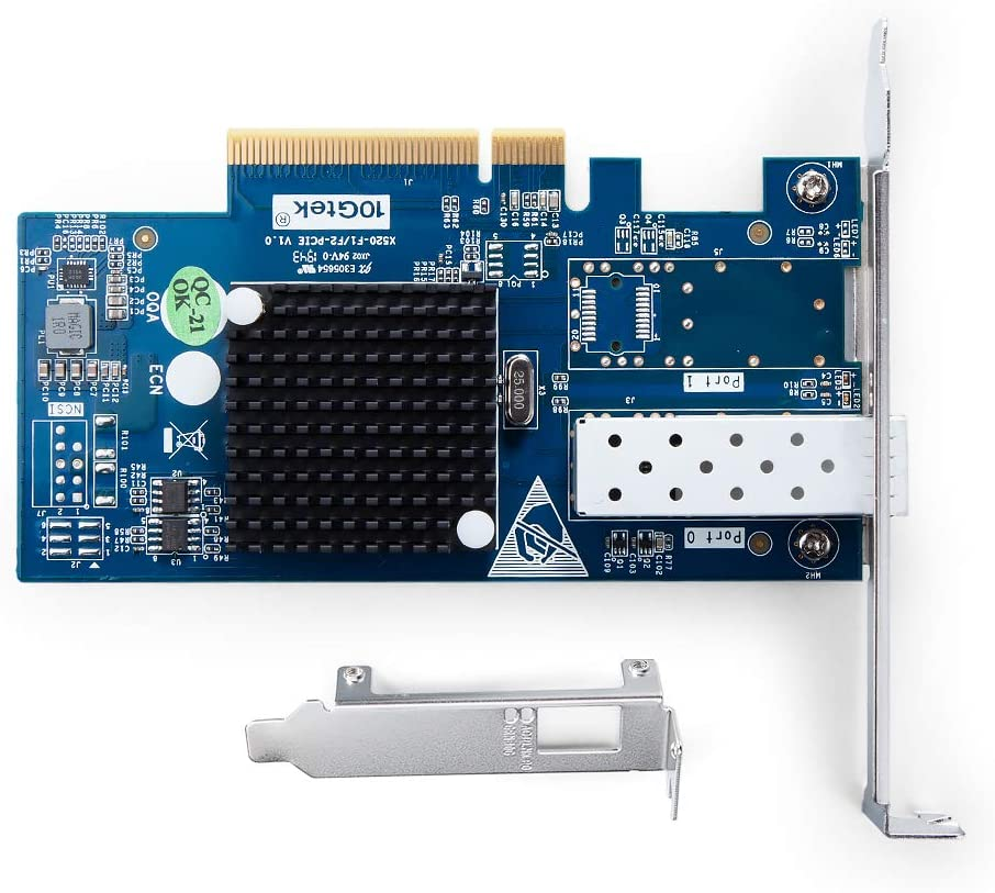 PCI Express Ethernet LAN Adapter Support Windows Server//Linux//ESX 10Gb PCI-E NIC Network Card Compare to Intel X550-T2 Dual Copper RJ45 Port