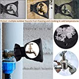 Faucet Warm Cover,Nesee Faucet Antifreeze Cover Faucet Freeze Protection for Faucet Outdoor Faucet Socks 7.09x 5.91x 1.57inch (Set of 1)