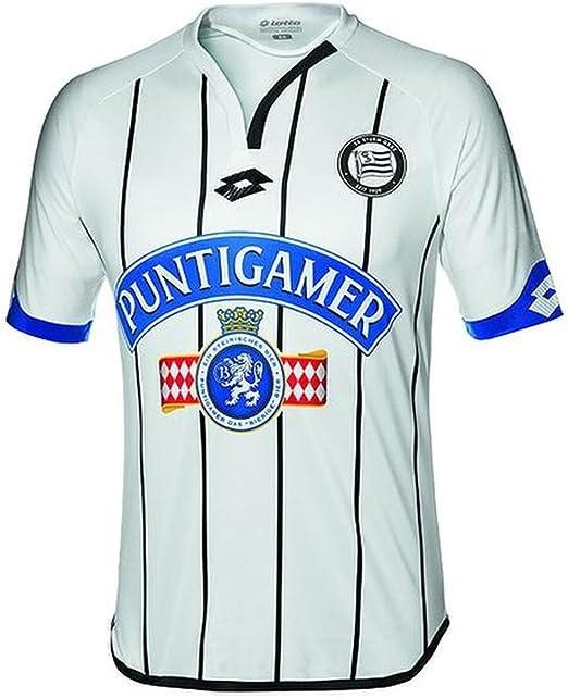 Fansport24 Lotto Sk Sturm Graz Fussball Trikot Away 2016 2017 Herren Kurzarm Weiss Schwarz Grosse Xxxl Amazon De Bekleidung