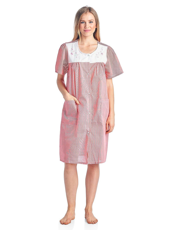 4ed05836f27 Size Small (4-8) Medium (8-12) Large (12-14) X-Large (16-18) XX-Large  (18-20) 3X-Large (20-22) Housecoat Hospital Gown ...