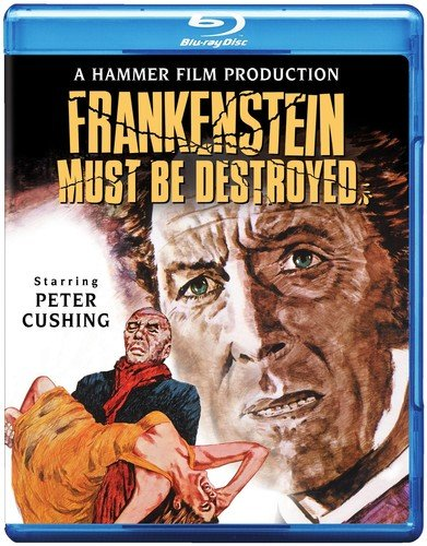 Blu-ray : Frankenstein Must Be Destroyed (Blu-ray)