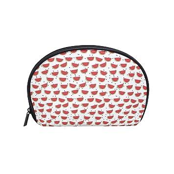 14825f10320f Amazon.com : Cartoon Cute Watermelon Print Small Fashion Compartment ...