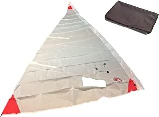 ventoz Laser a vela (4,7M2)–Macchie rosse, bianco 7M2)-Macchie rosse Ventoz Sails