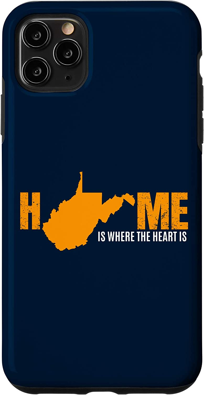 iPhone 11 Pro Max West Virginia WV Home Mountaineer State Souvenir Gift Case