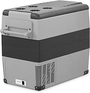 55L(58 Quart) VZTRIP Electric Large Capacity Portable Cooler, Fridge and Freezer for car and Home use vz-cf55