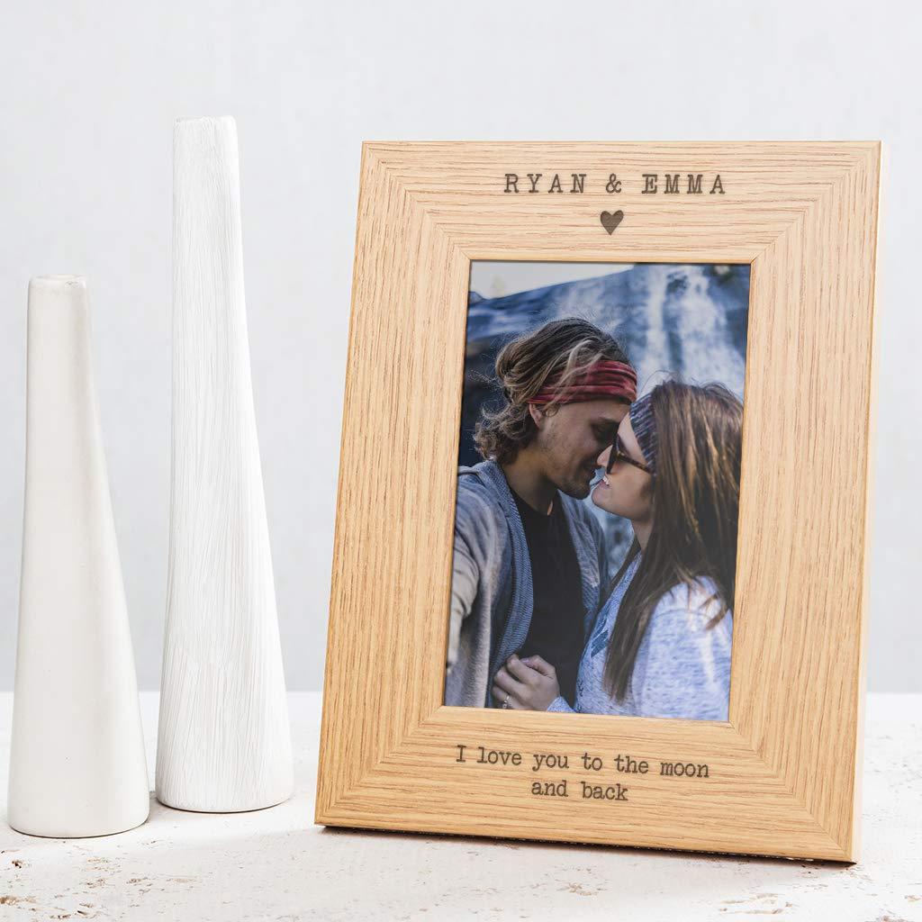 Personalised Anniversary Birthday Card Boyfriend Girl To The Moon