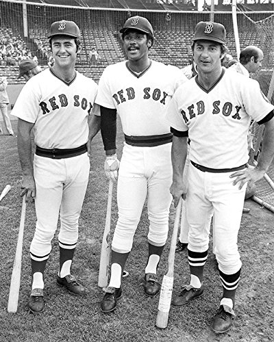 - Boston Red Sox Carl Yastrzemski, Fred Lynn & Jim Rice In 1975 8x10 Photograph