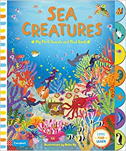 Search & Find Sea Creatures Book