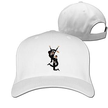 Hittings Unisex YSL Yves Saint Laurent Saint Cotton Snapback Baseball Cap  Hip Hop Hats White  Amazon.co.uk  Sports   Outdoors a0c4e3a0998