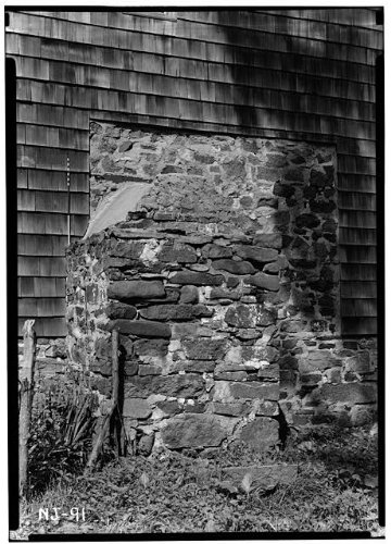 (HistoricalFindings Photo: Peter Berrien House,Old Rocky Hill Road,Rocky Hill,Somerset County,New Jersey,1)