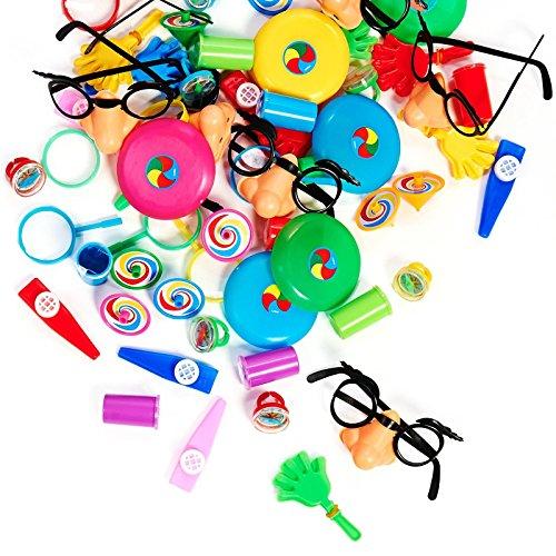 Pinata Mask & Buster Kit (Pinata Filler Toys - Favor Party Supplies)