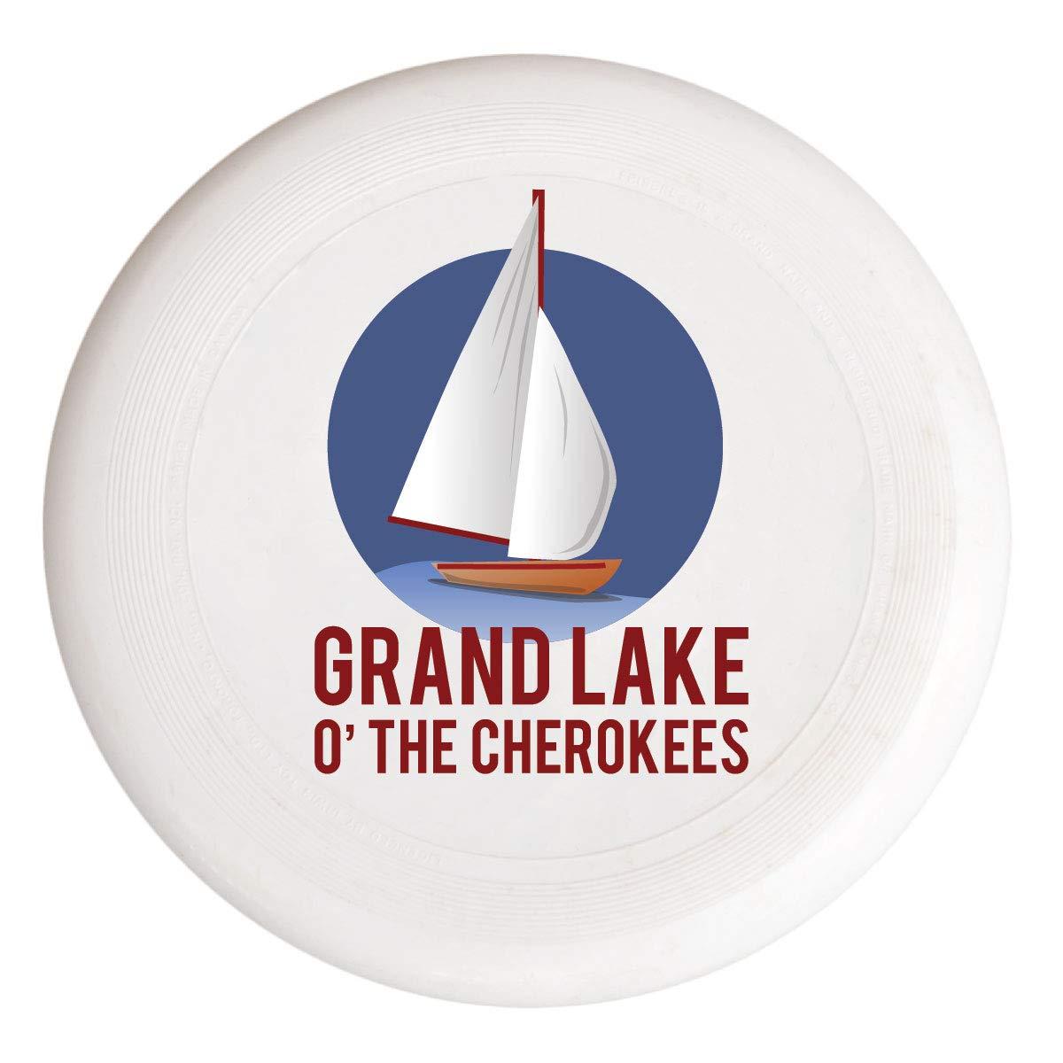 Grand Lake オクラホマ 航海 トレンディ お土産 フリスビー フライングディスク B07GVSMHVB