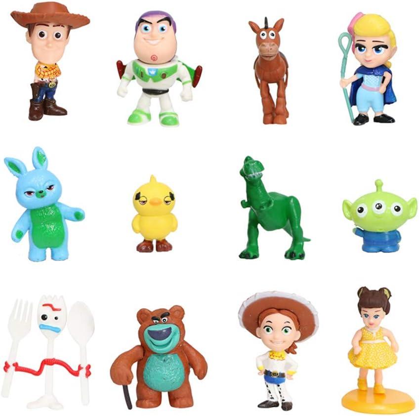 TOY STORY lot de 17 figurines jouet//gâteau Toppers Anniversaire Cake Topper