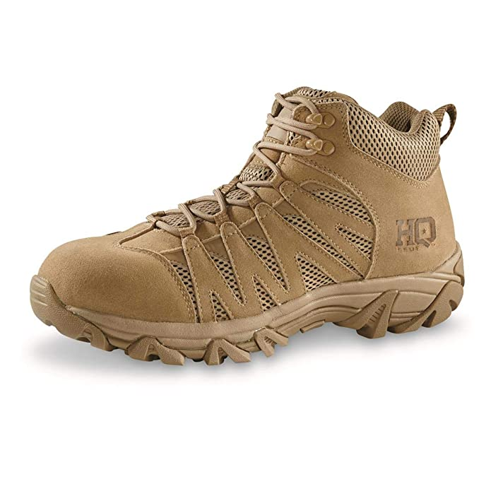 "HQ ISSUE Men's Canyon 6"" Waterproof Tactical Hiking Boots  best lightweight hiking shoes"