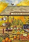 Bucks County Farm Stand Fall Autumn House Flag