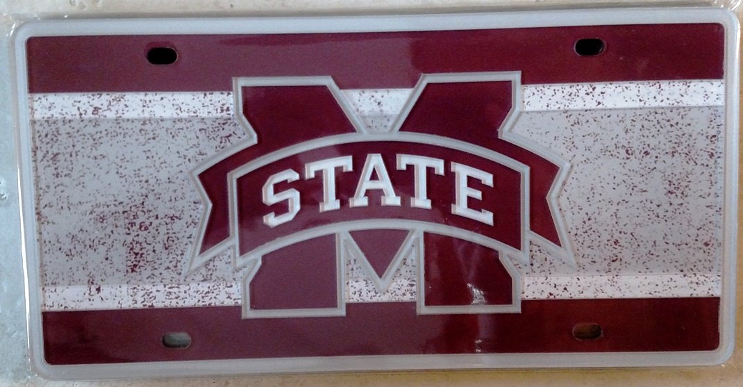 WinCraft Mississippi State University S69385 Specialty Acrylic License Plate