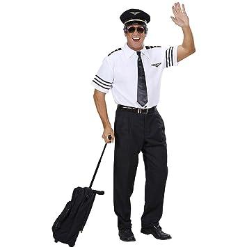 NET TOYS El capitán piloto Pilot camisa traje de piloto ...