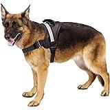 EXPAWLORER Big Dog Harness Soft Reflective No Pull Vest for Medium to Large Dogs