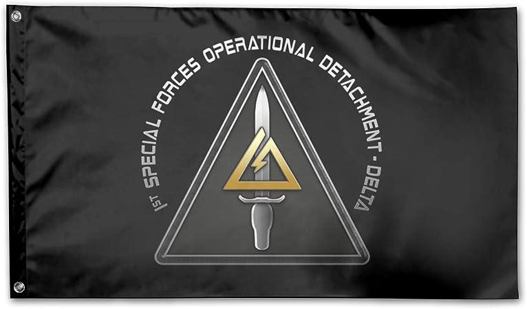 Amazon.com: 1ª bandera SFOD-D Delta Force de 3 x 5 pies ...