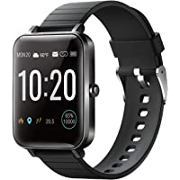 """YIRSUR Smart Watch for Android Phones & iPhones, Always-on 1.5"""" Large Screen, IP68 Waterproof Fitness Tracker Heart Rate…"""