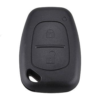 Carcasa case funda llave remoto para Vauxhall Opel Vivaro, Renault Trafic, Nissan Primastar
