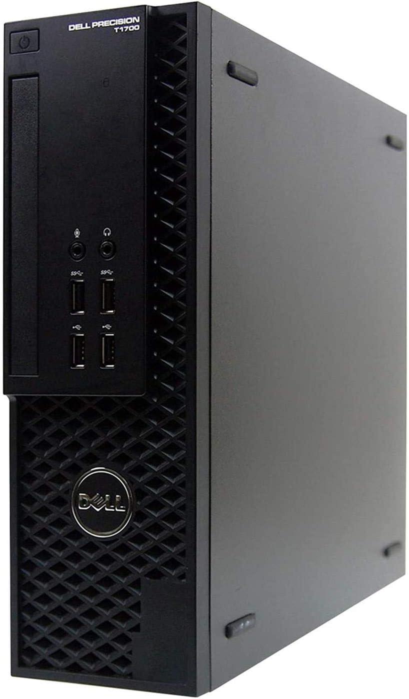 Dell Precision T1700 Business Desktop Small Form Factor PC - Quad Core Intel i5 4th Gen, 16GB DDR3 RAM, 1TB SSD, New Keyboard, Mouse, WiFi, Windows 10 Professional(Renewed)