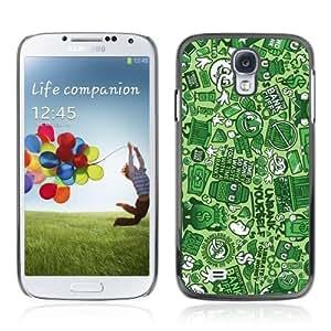 Designer Depo Hard Protection Case for Samsung Galaxy S4 / Graffiti Pattern