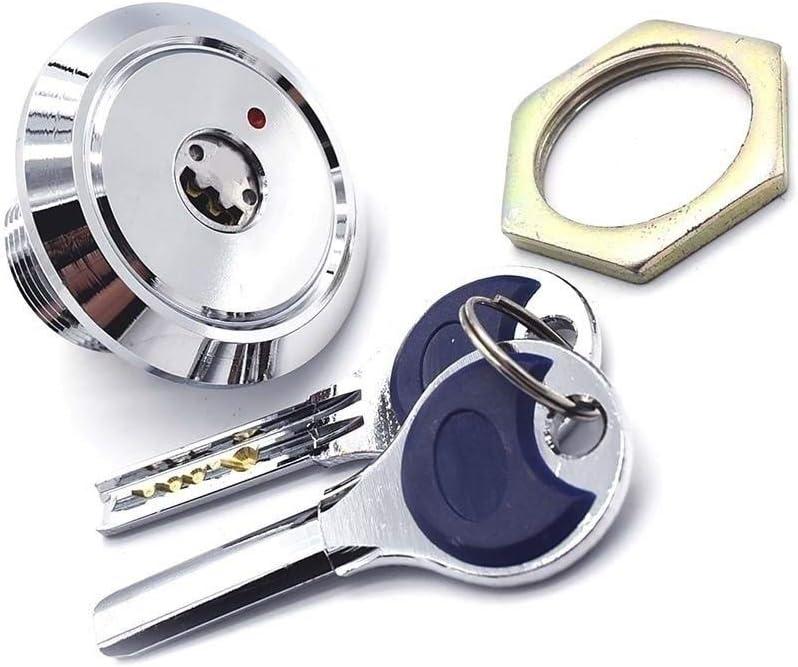 Nologo Durable Practical JA72 Hardware Brass Cam Lock Cabinet Locks with 2 Computer Pin Key for Door Cabinet Drawer Equipment
