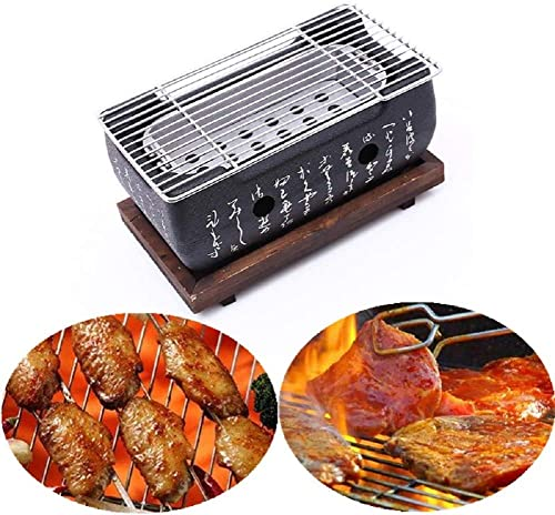 IAXSEE Cast Iron Table Top Grill