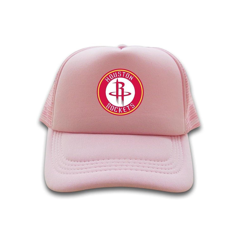 Popular Trucker Hat Houston Rockets NBA Logo 2016 100% cotton Sun cap for mens womens