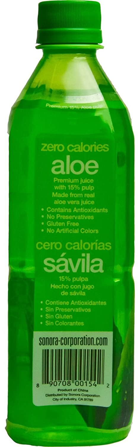 Amazon.com : Viloe Aloe Drink, Zero Calorie, 16.9 Fluid Ounce (Pack of 24) : Grocery & Gourmet Food