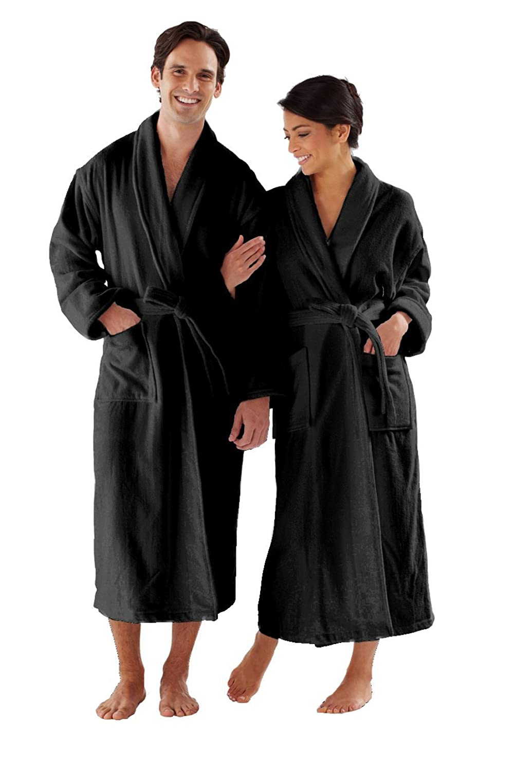 dc00ab1ff5 QUALITY   COMFORT  This Premium Boca Terry Robe is pure luxury. Made from  100% Cotton you can find this super soft and plush robe hanging in luxury  hotels ...