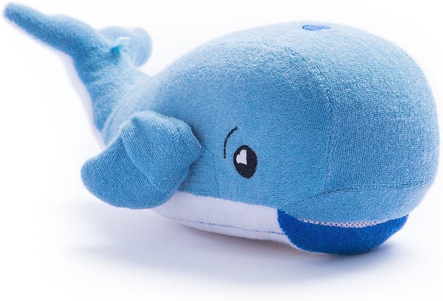 New SoapSox Kids Plush Washcloth Bath Sponge Toy gift  Tank the Shark