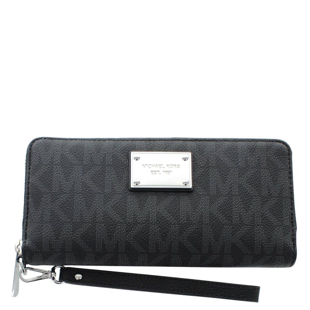 Michael Kors Travel Continental Wallet 32T5STTE9B Black