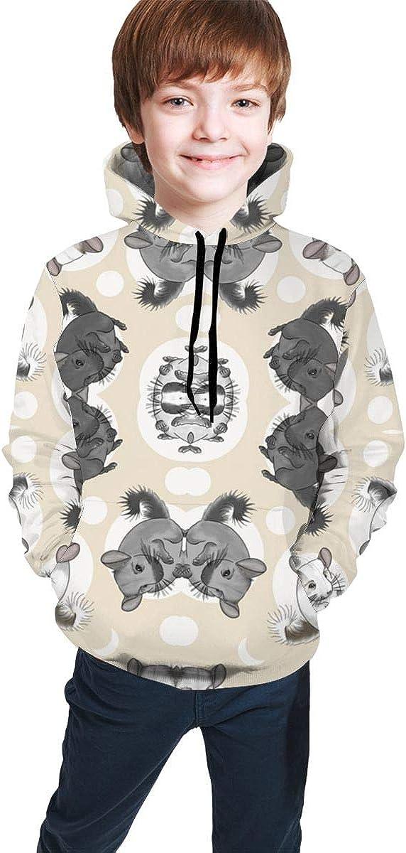 YongColer Boys /& Girls Drawstring Hoodie Sweatshirts Pullover Slim Tunic Top Blouse