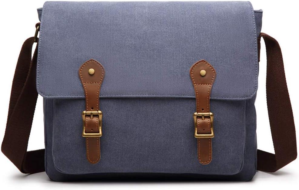 Bolsa masculina de lona vintage, bolsa de viagem militar