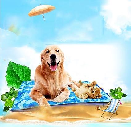 Colchón para Mascotas Colchoneta de Hielo para Perros ...