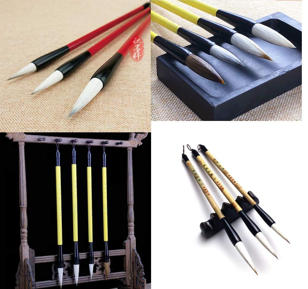 Cepillo de caligrafía china Pen Sumi Drawing Brush para Art 3pcs 894ee8390f86