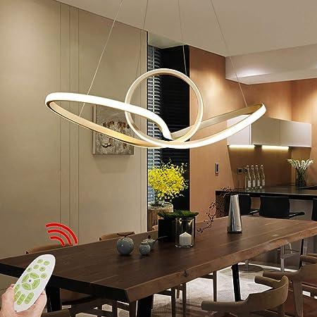 Lámpara colgante de LED Lámpara de mesa de comedor Sala de ...