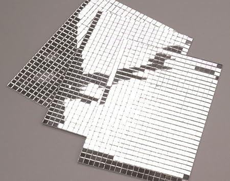 600 small silver self adhesive mirror mosaic tiles amazon 600 small silver self adhesive mirror mosaic tiles solutioingenieria Images