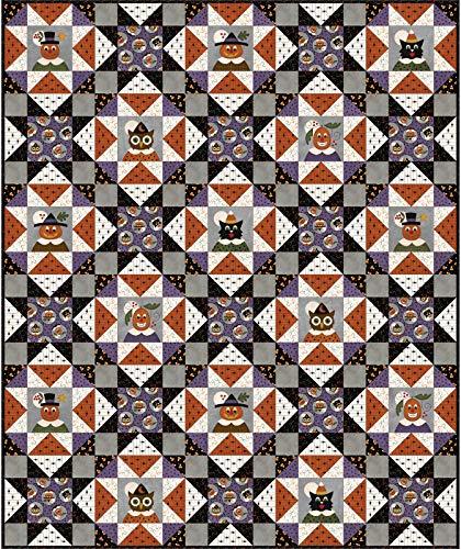 Halloween Quilt Kits (Bonnie Sullivan Happy Jacks & Friends Quilt Kit Maywood)