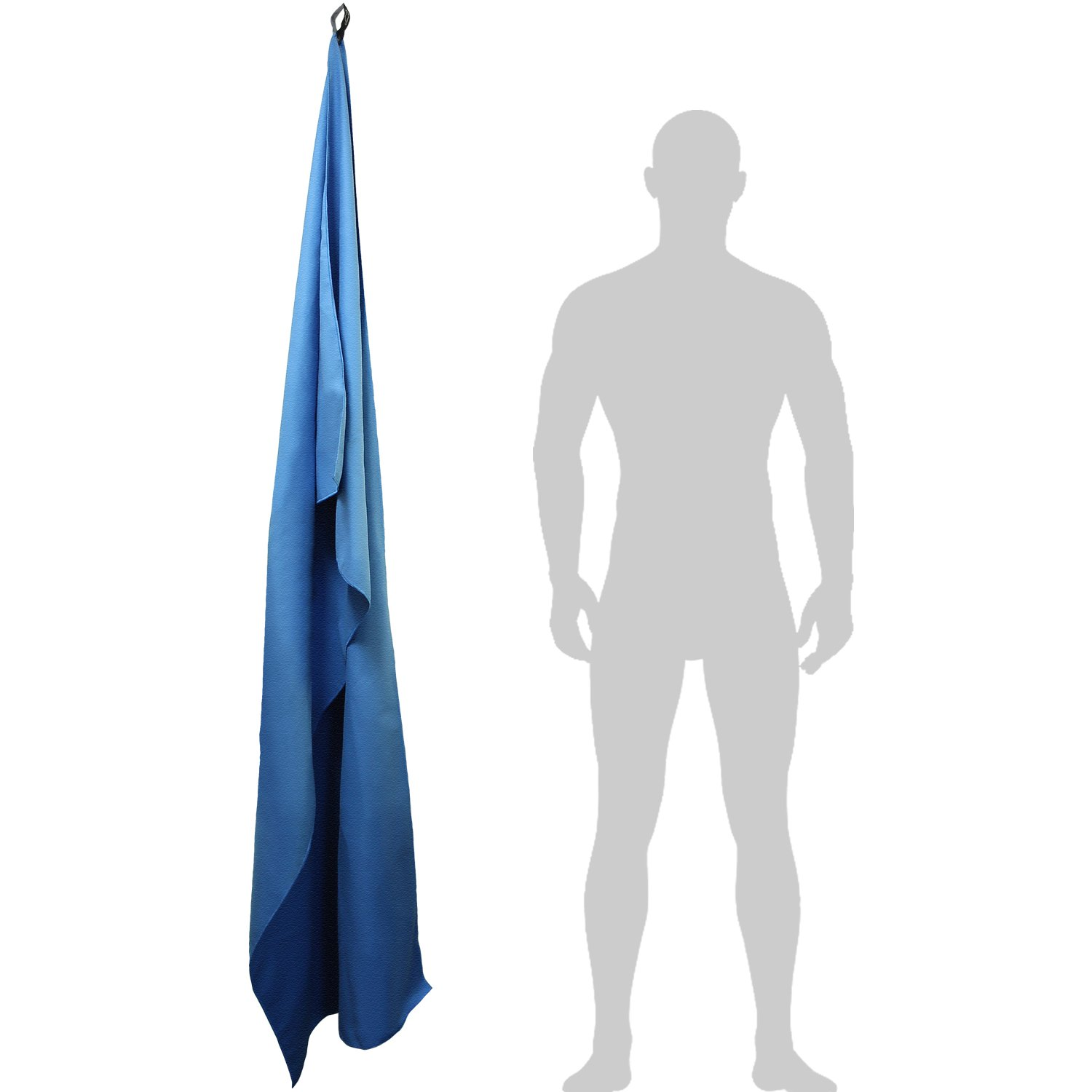 Camping and Much More Lightweight and Compact Quick Dry Microfibre Travel Towel for Sports Swimming 180x80cm Gym CampTeck Large Yoga Beach