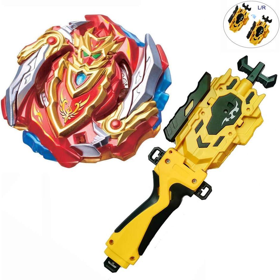 BHUGOGO Battling Tops Bey Children Gyro Toy B129 CHO-Z ACHILLES.00.Dm Power Handle Launcher Starter